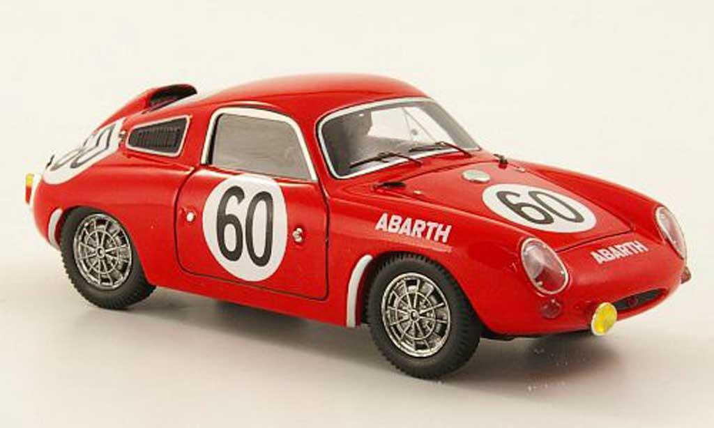 Abarth 850 S 1/43 Spark No.60 24h Le Mans D.Hulme/A.Hyslop 1961 miniature