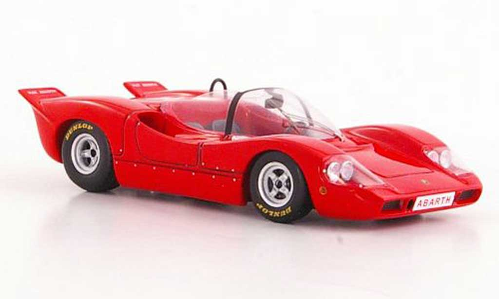 Abarth 2000 Sport Spider 1/43 Spark rouge 1968 miniature
