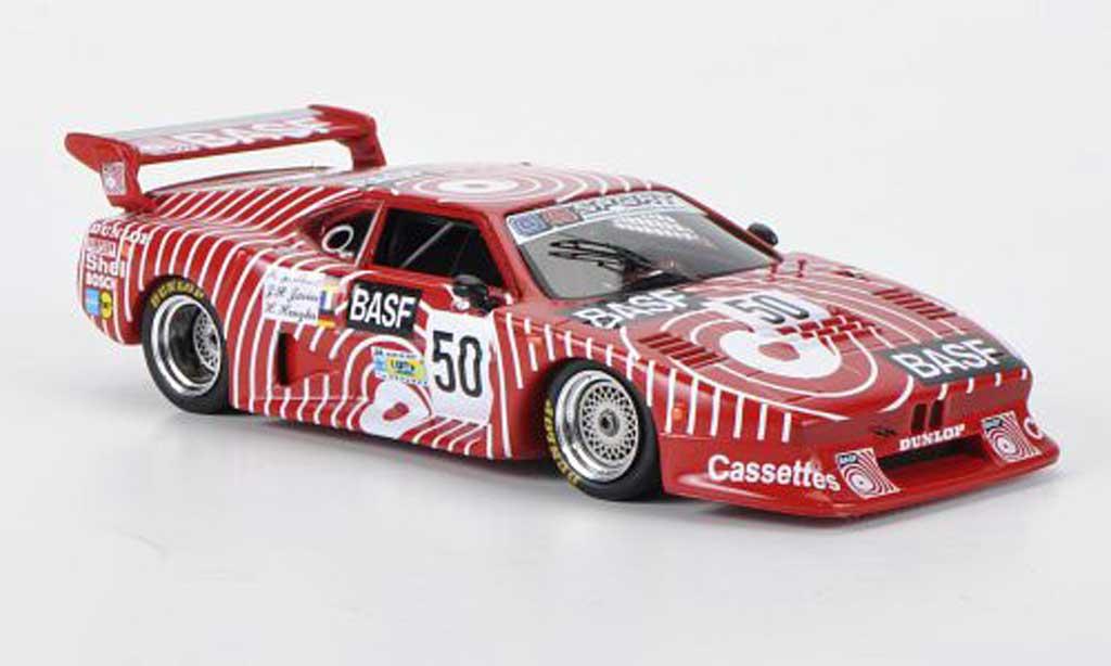 Bmw M1 1981 1/43 Spark No.50 BASF J-P.Jarier/H.Henzler/H.-J.Stuck 24h Le Mans diecast model cars
