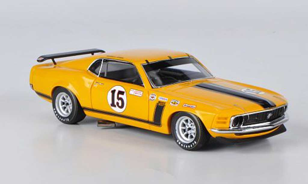 Ford Mustang 1970 1/43 Spark 1970 Boss 302 No.15 Parnelli Jones Trans-Am miniature