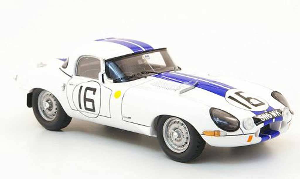 Jaguar E-Type 1963 1/43 Spark 1963 No.16 24h LMans miniature
