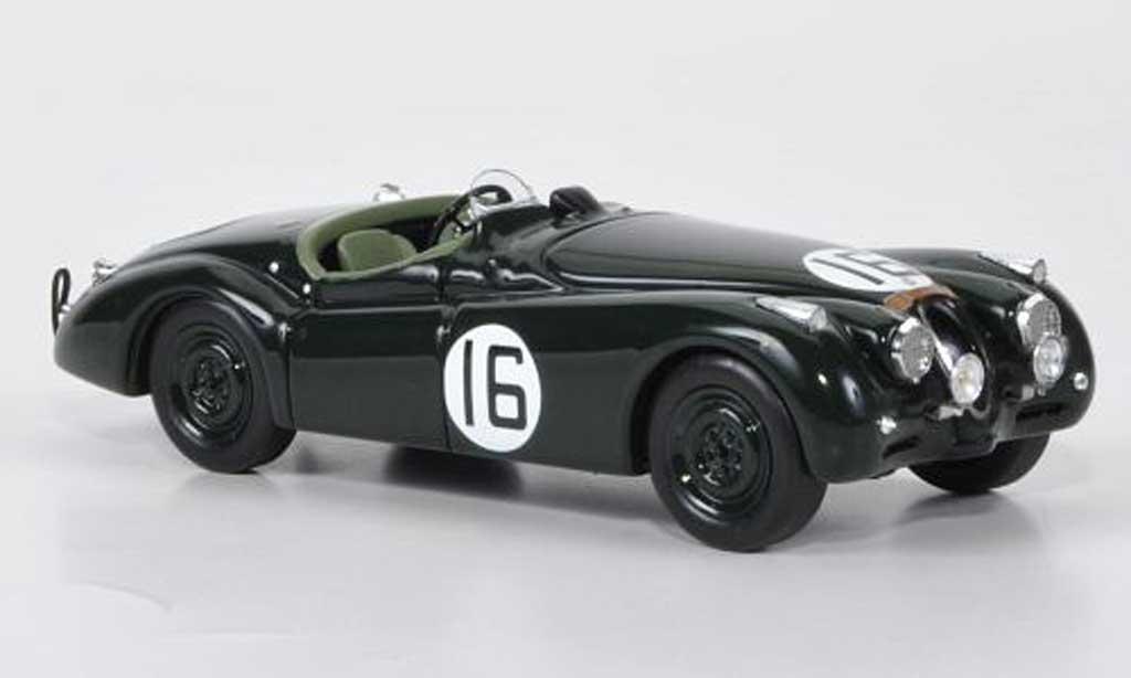 Jaguar XK 120 1/43 Spark No.16 P.Whitehead/J.Marshall 24h Le Mans 1950 miniature