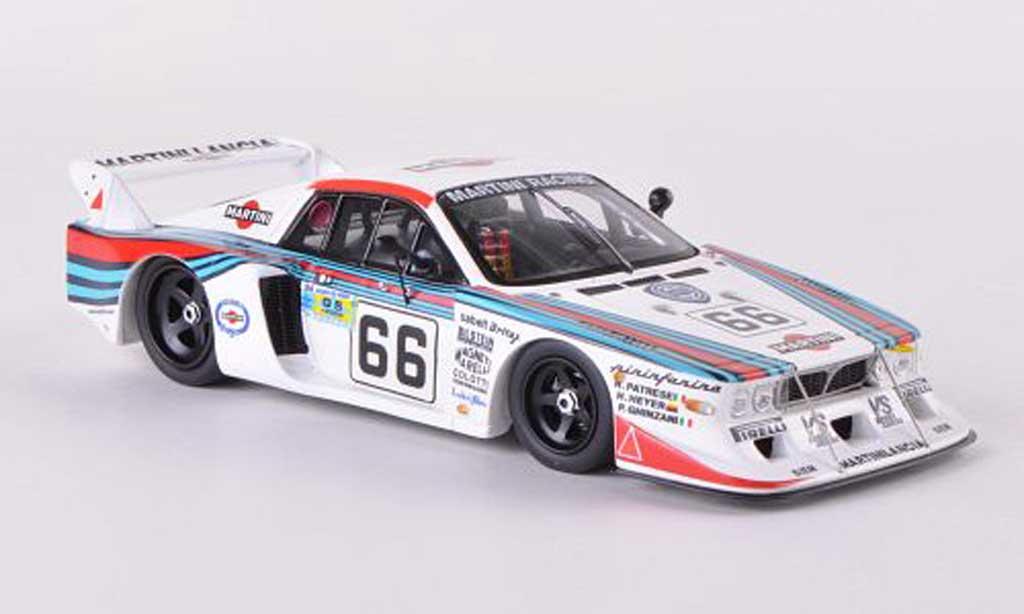 Lancia Beta Monte Carlo 1/43 Spark No.66 Martini 24h Le Mans 1981 R.Patrese/H.Heyer/P.Ghinzani miniature
