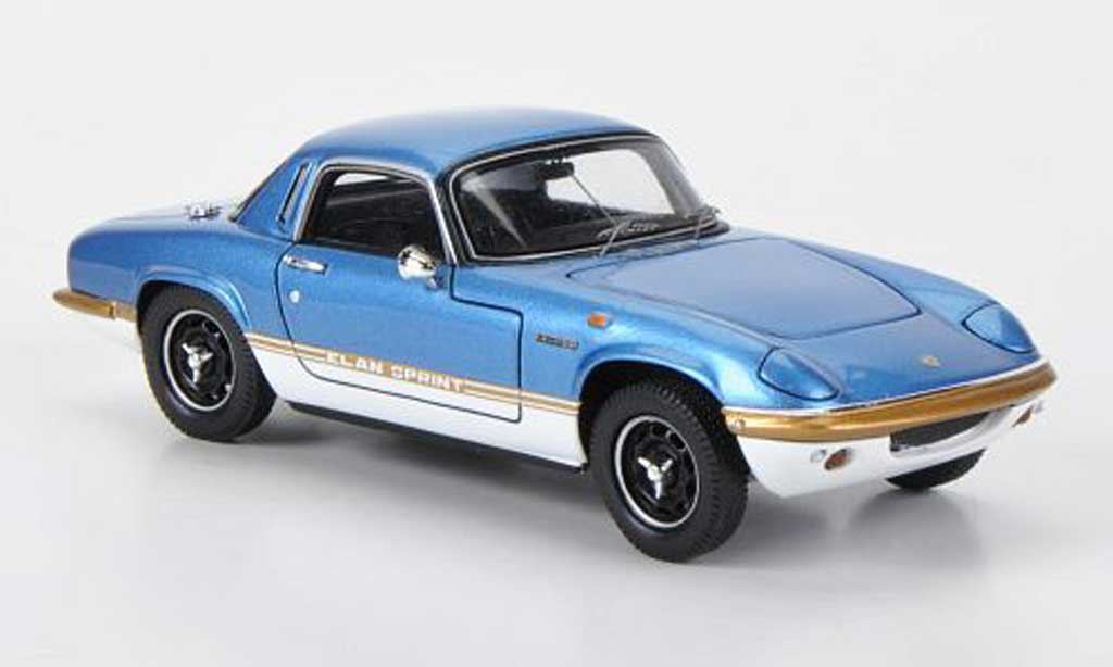Lotus Elan 1/43 Spark S4 Sprint bleu 1971 diecast model cars