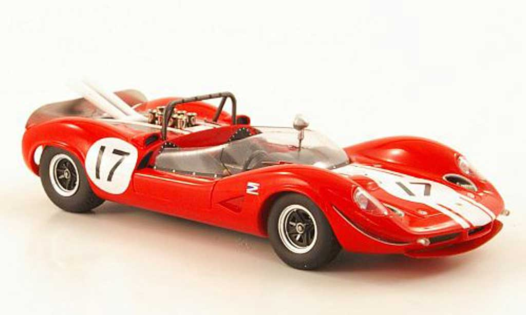 Lotus F1 1966 1/43 Spark Type 30 S2 No.17 Team Willment B.Muir Silverstone miniature