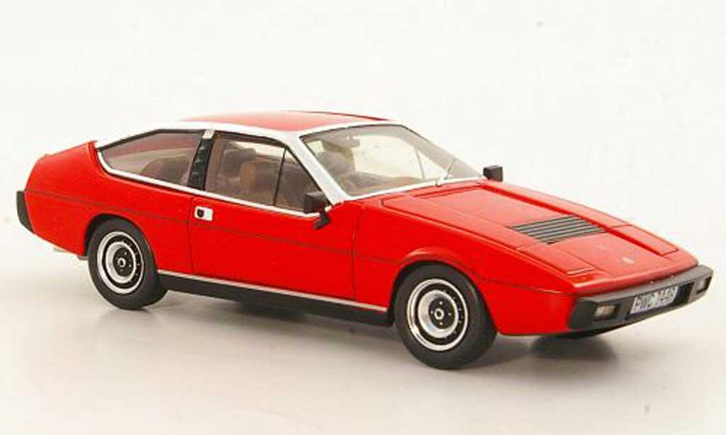 Lotus Eclat 1/43 Spark S1 rouge 1975 miniature