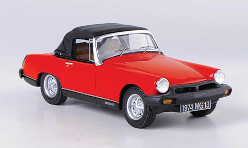 MG Midget 1974 1/43 Spark 1974 1500 rouge/noire miniature