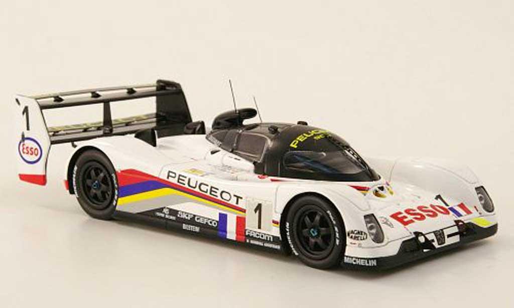 Peugeot 905 1993 1/43 Spark EV1 Ter No.1 Esso 24h Le Mans miniature