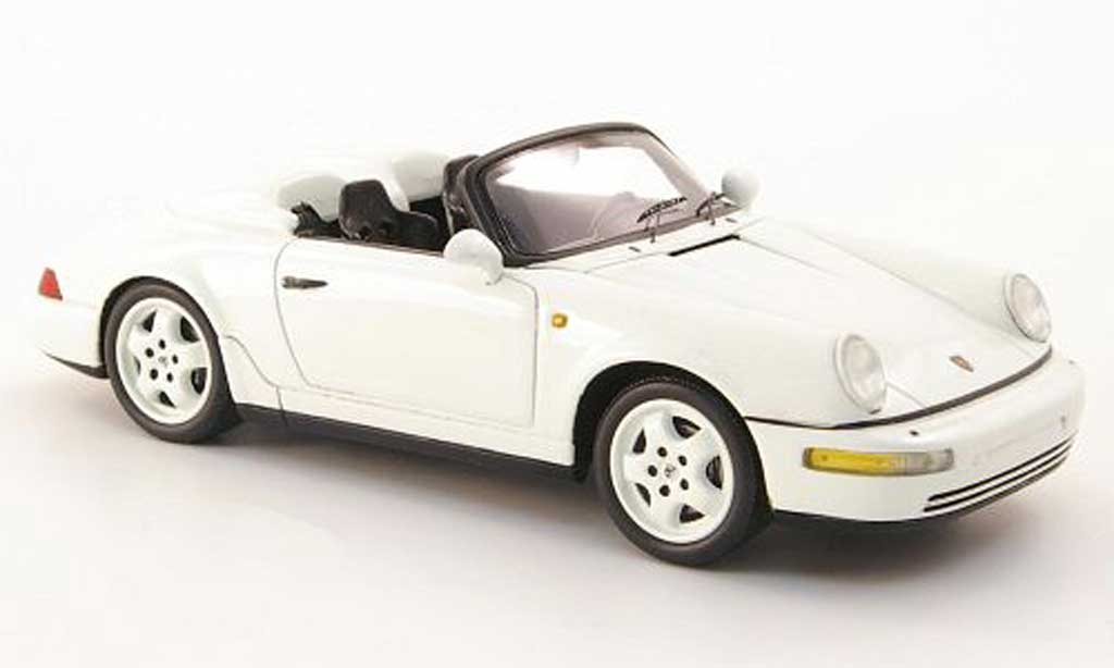 porsche 964 speedster weiss 1993 spark modellauto 1 43 kaufen verkauf modellauto online. Black Bedroom Furniture Sets. Home Design Ideas