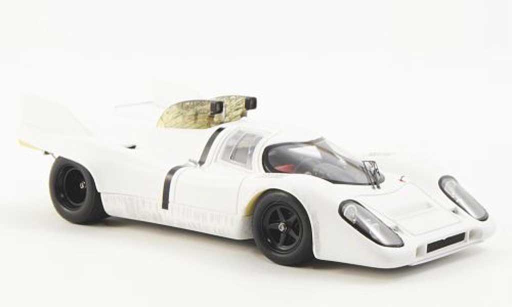 Porsche 917 1971 1/43 Spark blanche mit Schnorcufteinlass miniature