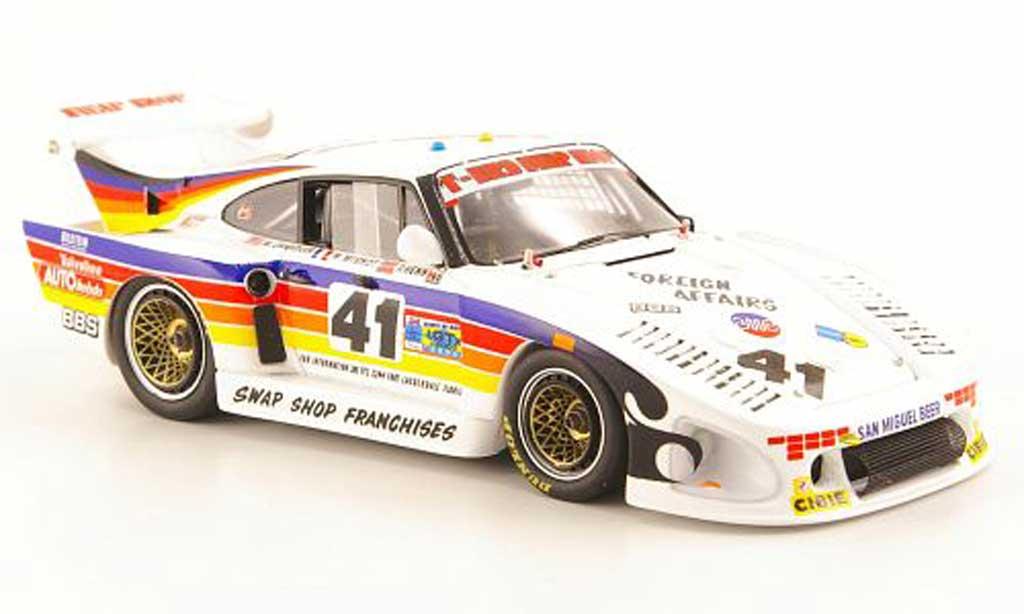 Porsche 935 1981 1/43 Spark K3 No.41 T-Bird Swap Shop 24h Le Mans diecast model cars