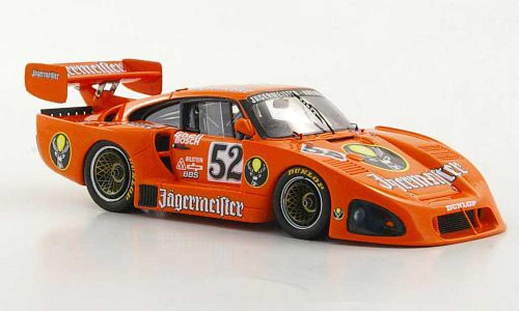 Porsche 935 1981 1/43 Spark K4 No.52 Jagermeister DRM Zolder diecast model cars