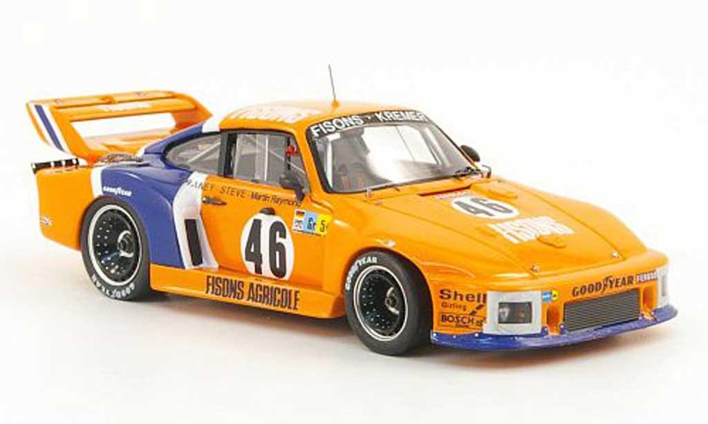 Porsche 935 1978 1/43 Spark No.46 Fisons - Kremer 24h Le Mans diecast model cars