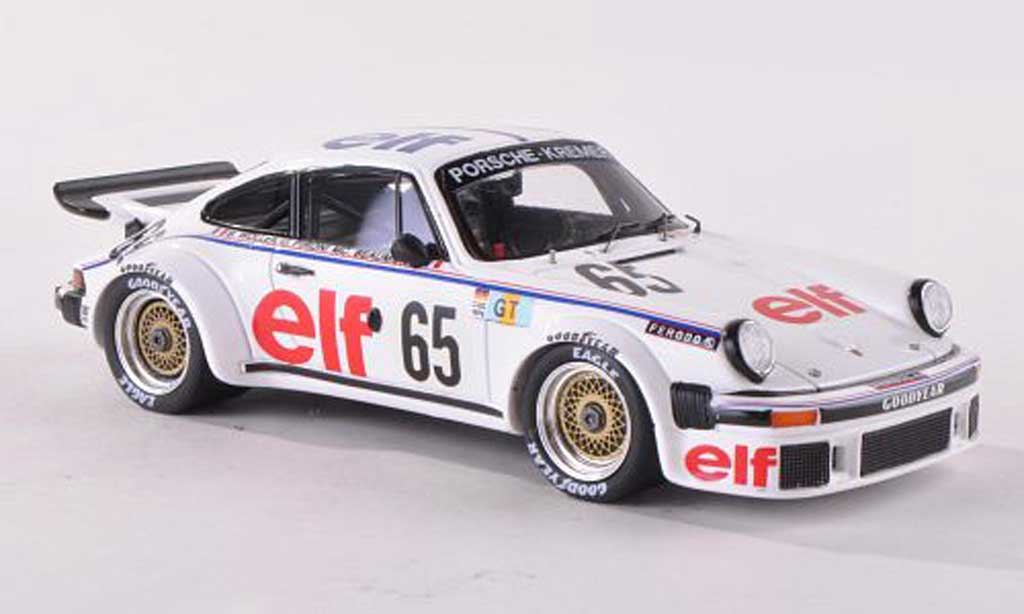 Porsche 934 1977 1/43 Spark No.65 Elf 24h Le Mans B.Wollek/D.Pironi/M.C.Beaumont diecast model cars