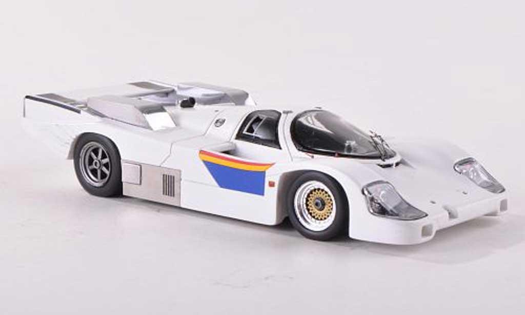 Porsche 956 1983 1/43 Spark Test F1 TAG moteur avec Schmutz-Effekt miniature