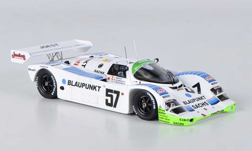 Porsche 962 1991 1/43 Spark No.57 Joest J.Winter / B.Schneider / H.Pescarolo 24h Le Mans diecast