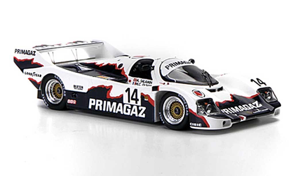 Porsche 962 1991 1/43 Spark C No.14 Primagaz 24h Le Mans diecast model cars