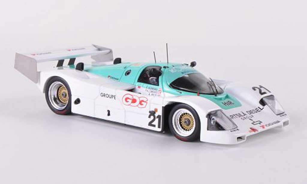 Porsche 962 1991 1/43 Spark No.21 Konrad Motorsport 24h Le Mans F.Konrad/A.Reid/P-A.Lombardi miniature