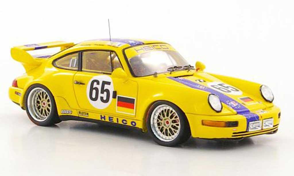 Porsche 993 RSR 1/43 Spark 964 RSR No.65 K.-H.Wlazik / U.Richter / D.Ebeling 24h Le Mans 1 miniature