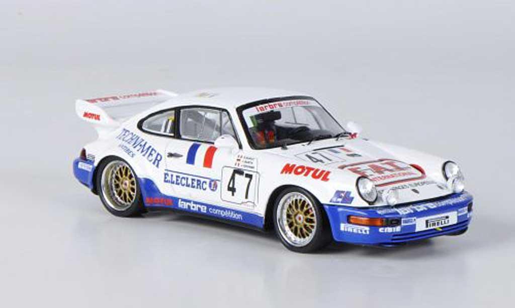 Porsche 993 RSR 1/43 Spark 964 RSR No.47 F.A.T. 24h Le Mans 1 miniature