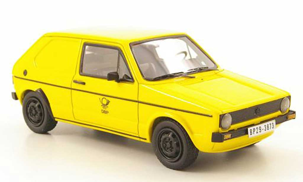 Volkswagen Golf I 1/43 Neo Deutsche Post miniatura