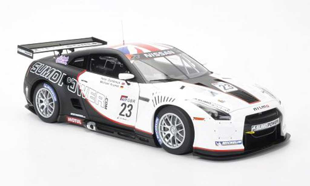 Nissan Skyline R35 1/18 Autoart GT-R No.23 Team Sumo Power GT M.Krumm/P.Dumbreck Fia GT1 Weltmeisterschaft 2010 miniatura