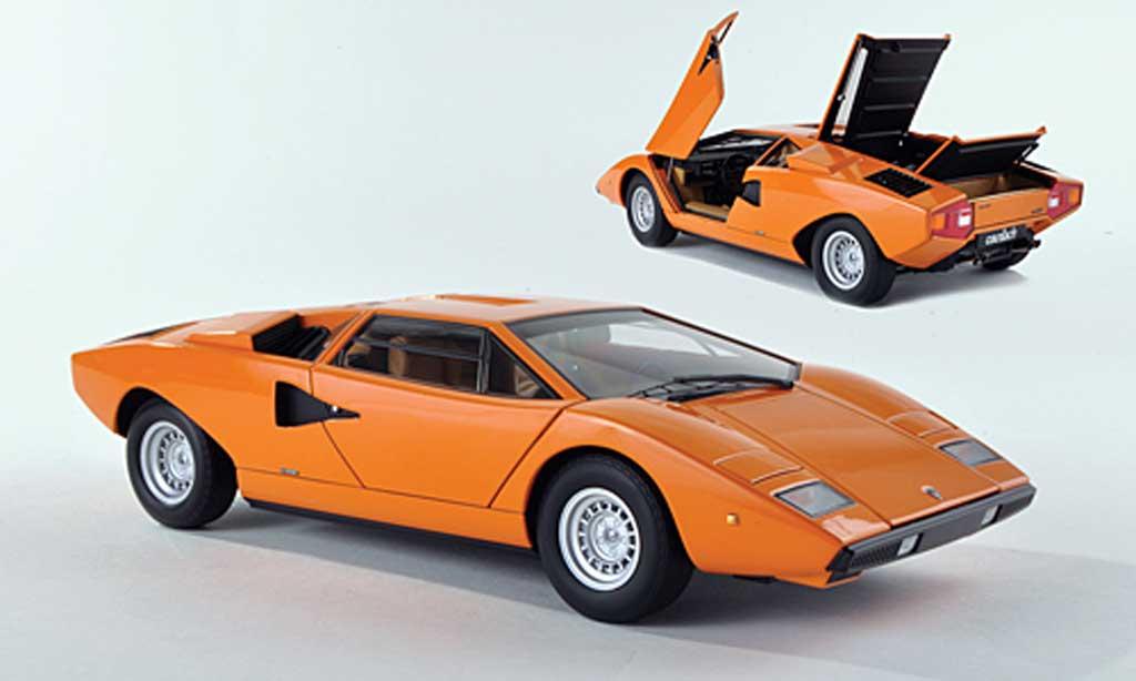 Lamborghini Countach Lp 400 Autoart Diecast Model Car 1 43