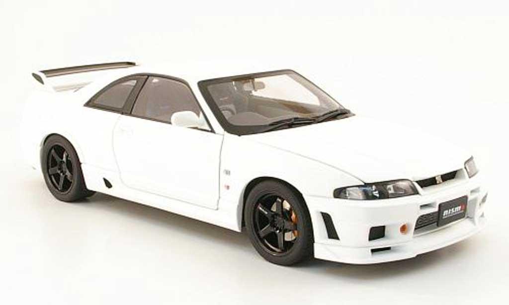 Nissan Skyline R33 1/18 Autoart gt-r (r33) v-spec mattblanche rhd 1996 miniature