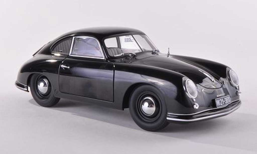 porsche 356 1950 ferdinand schwarz autoart modellauto 1 43. Black Bedroom Furniture Sets. Home Design Ideas