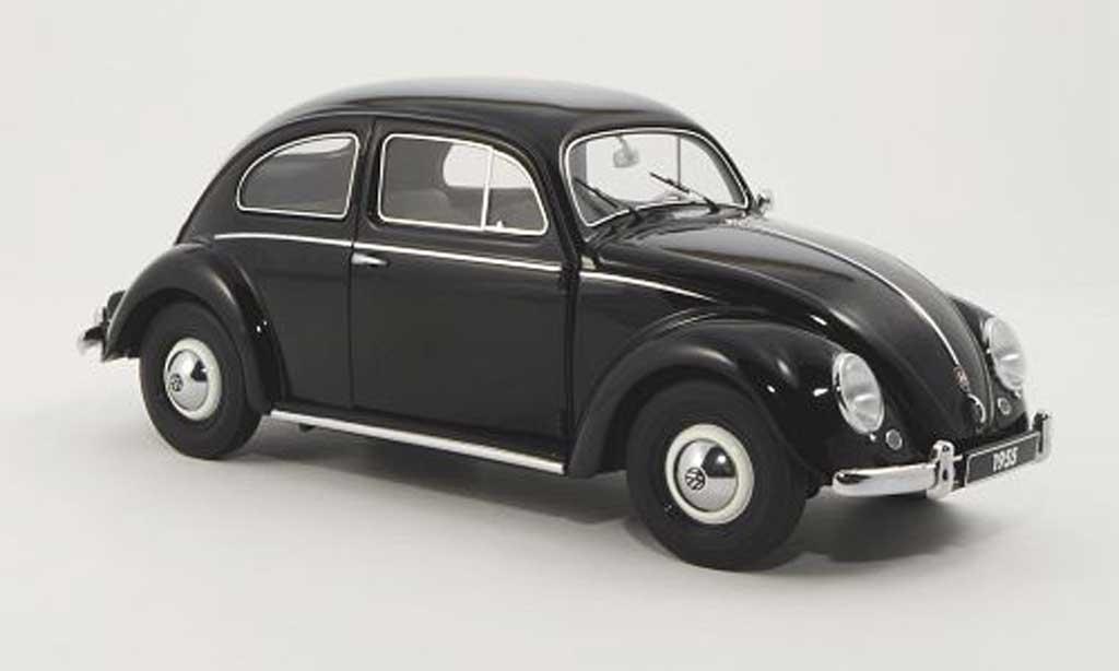 Volkswagen Kafer 1/18 Autoart black 1955 diecast model cars