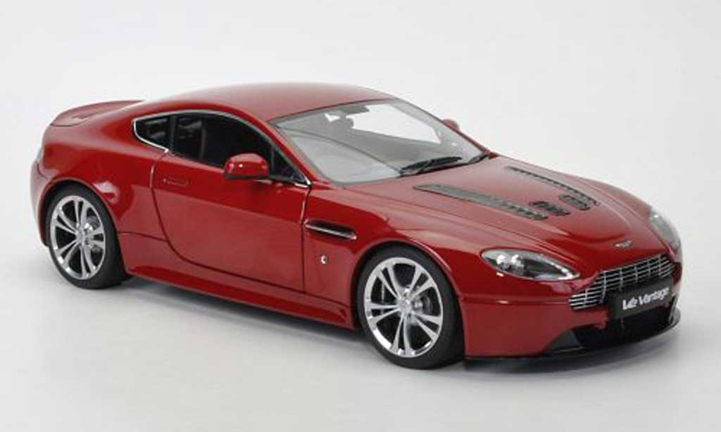 aston martin v12 vantage red 2010 autoart diecast model car 1 18 buy sell diecast car on. Black Bedroom Furniture Sets. Home Design Ideas