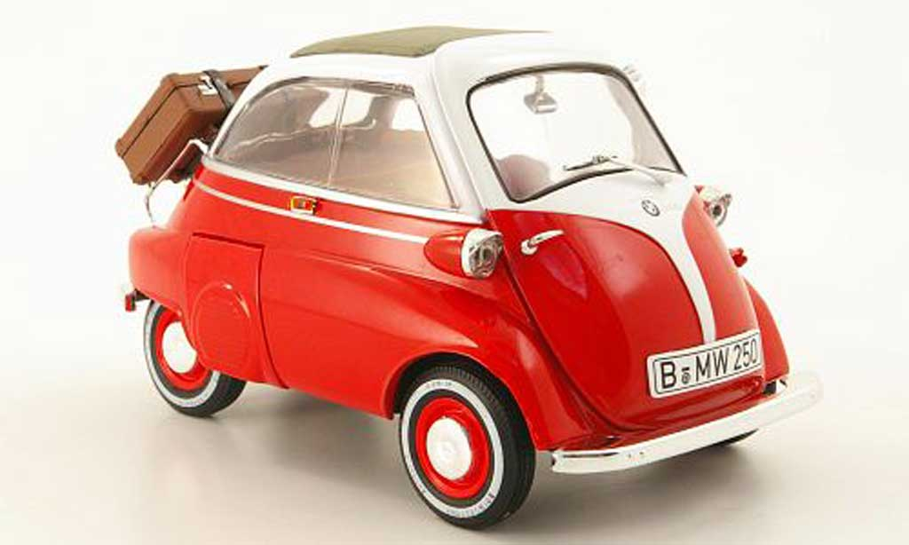 bmw isetta 250 red white revell diecast model car 1 18 buy sell diecast car on. Black Bedroom Furniture Sets. Home Design Ideas