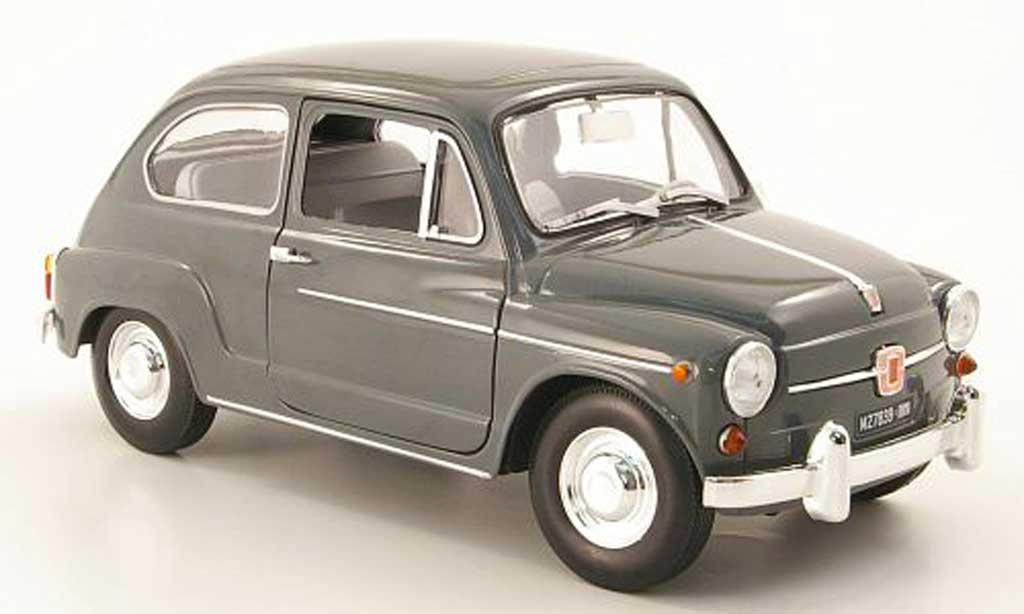 Fiat 600 1/18 Revell d grey diecast model cars