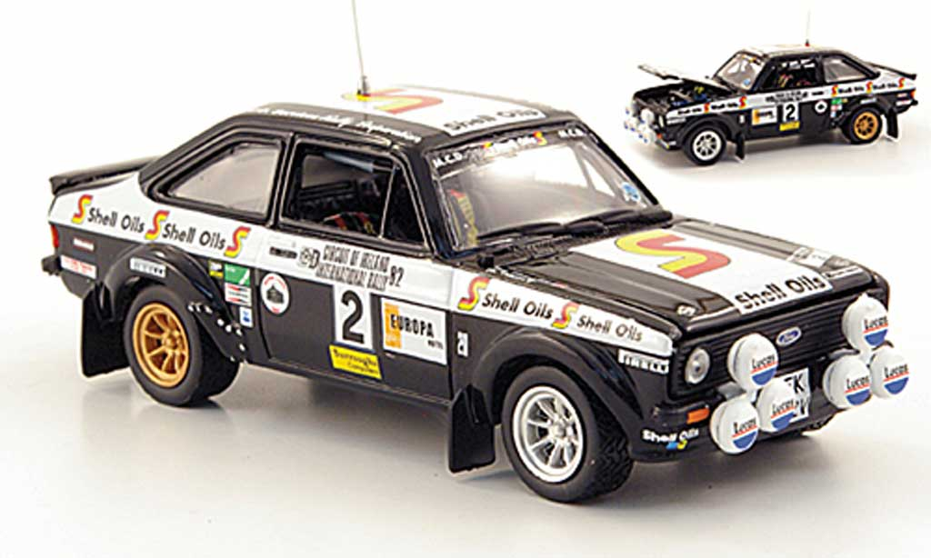 Ford Escort RS 1800 1/43 Vitesse No.2 S Oils Circuit of Irland 1982 miniature