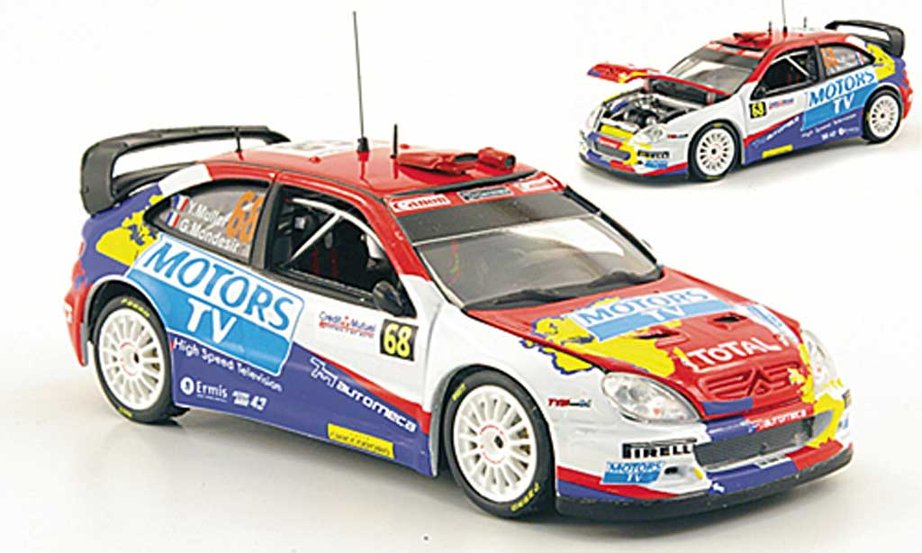 Citroen Xsara WRC 2010 1/43 Vitesse No.68 Motors TV Rally Frankreich miniature