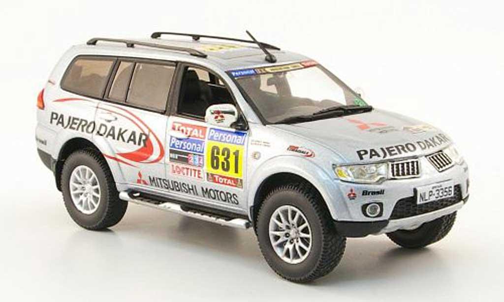 Mitsubishi Pajero 1/43 Vitesse Sport Team Service Car Rally Dakar 2010 miniature