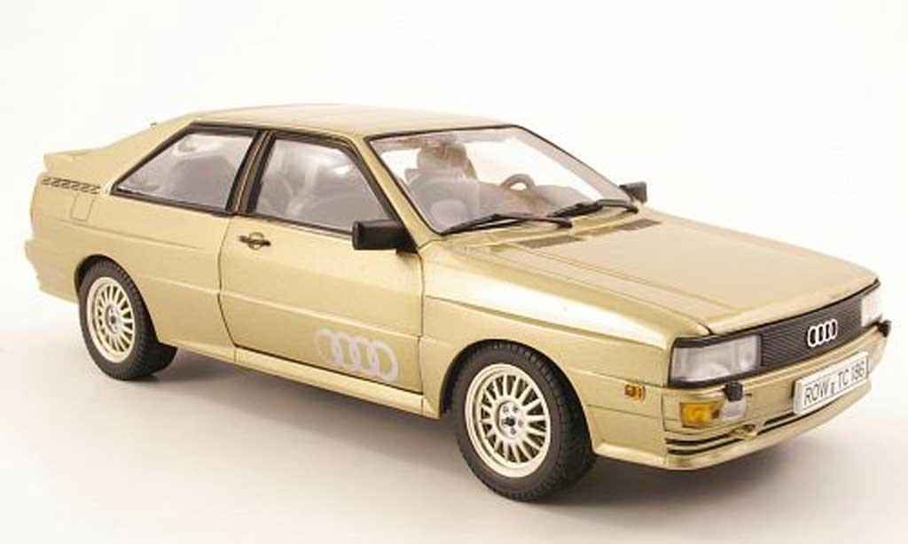Audi Quattro 1/18 Sun Star beige 1981 miniature