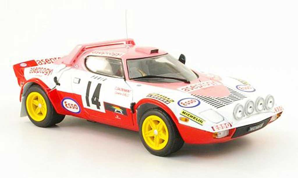 Lancia Stratos Rallye 1/18 Sun Star hf no.14 rallye monte carlo 1977 c.dacremont / c.galli miniature