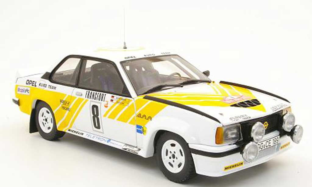 opel ascona 400 400 no 8 opel euro team rally monte carlo 1980 sun star. Black Bedroom Furniture Sets. Home Design Ideas