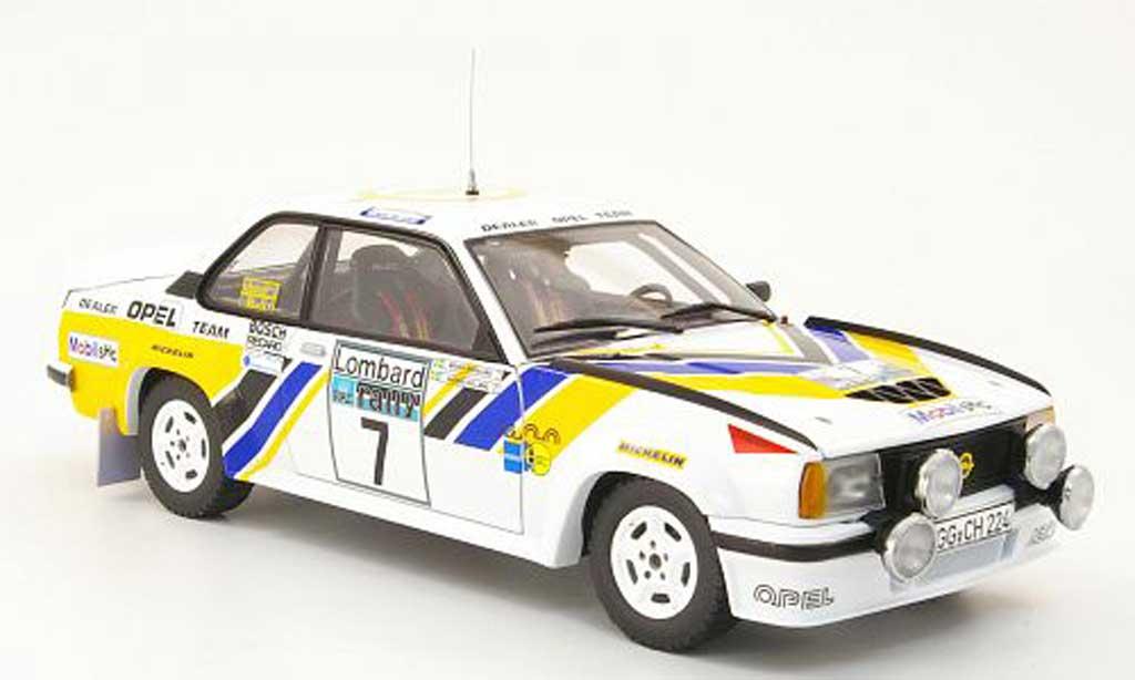 Opel Ascona 400 1/18 Sun Star no.7 opel dealer team rac rallye 1980 a.kullang / b.berglund miniature
