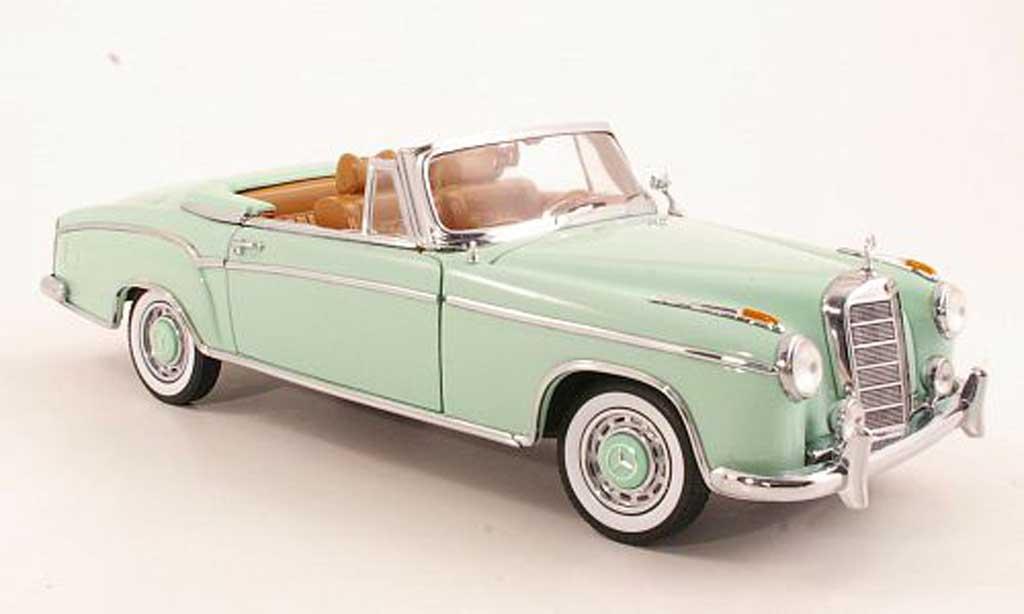 Mercedes 220 1/18 Sun Star SE Cabriolet (W128) mint 1958 miniature