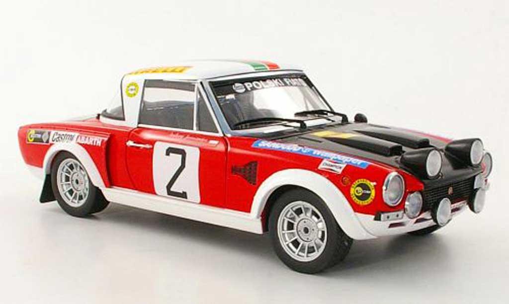 Fiat 124 Abarth 1/18 Sun Star No.2 A.Jaroszewicz / R.Zyszkowski Rally Warszawski 1974
