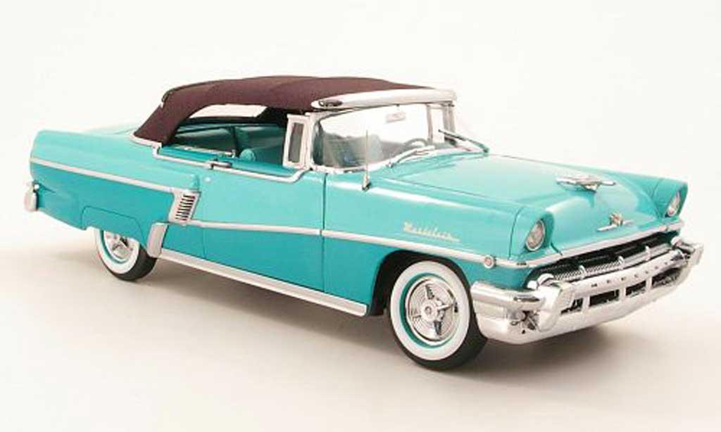Mercury Montclair 1/18 Sun Star Cabriolet grun 1956 miniature