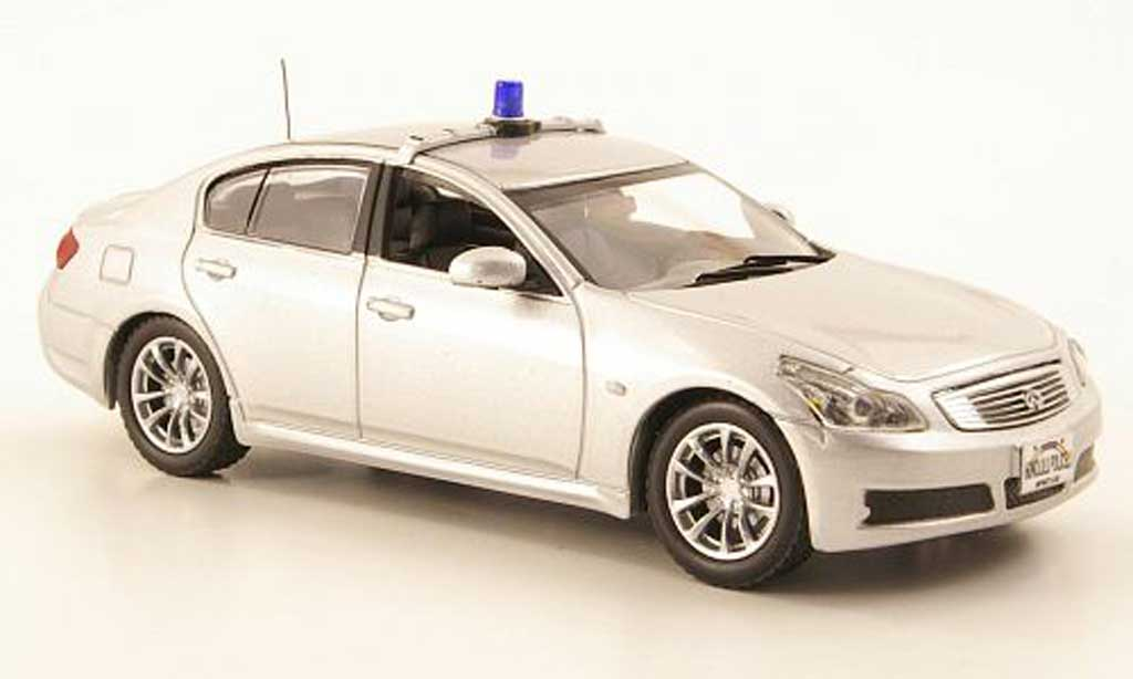 Infiniti G35 1/43 J Collection Honolulu Police 2007 miniature