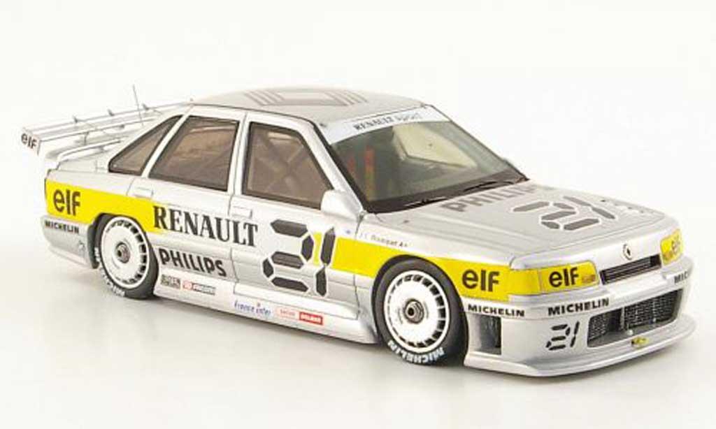 Renault R21 Supertourisme 1/43 Spark No.21 Championnat de France de 1988 miniature