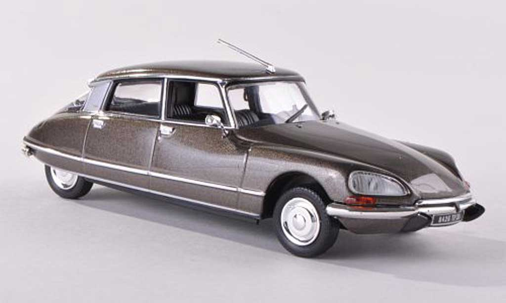 Citroen DS 23 1/43 Norev Pallas gris-brun 1972 miniature
