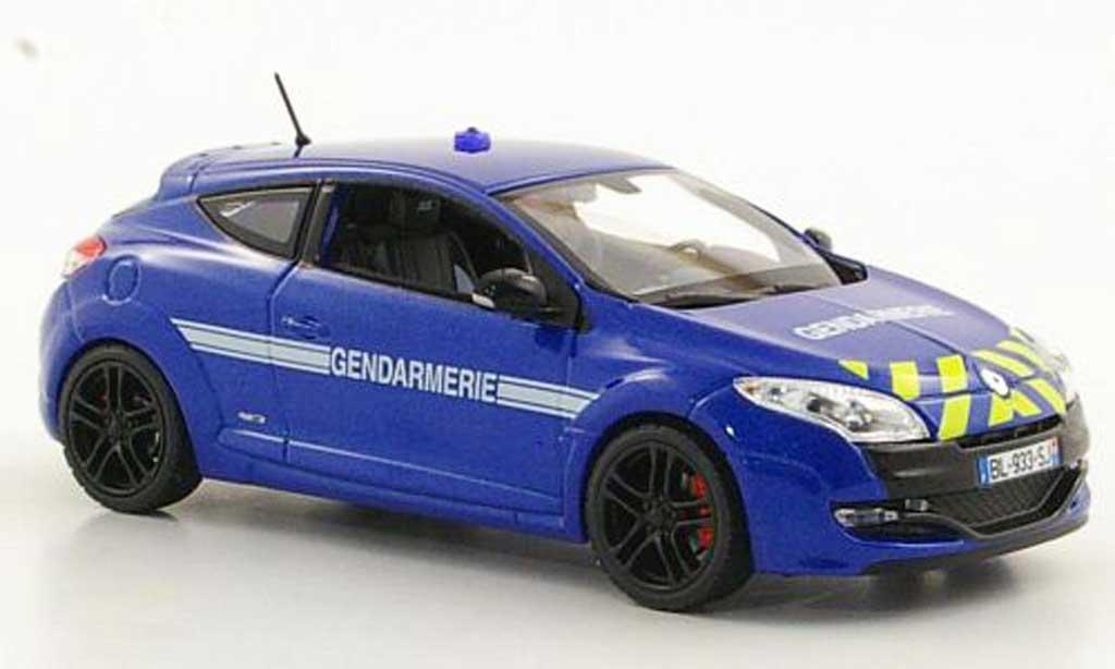 Renault Megane RS 1/43 Norev Gendarmerie 2011 diecast