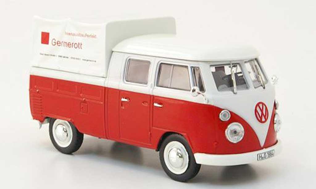 Volkswagen T1 B 1/43 Norev b Doka-Pritsche Germerott 1961 modellautos