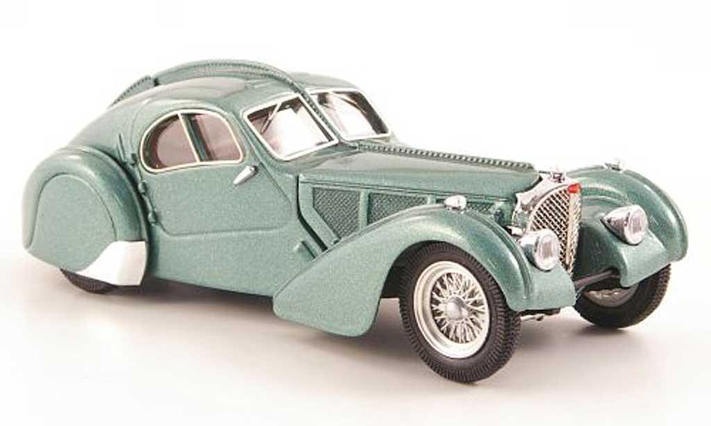 Bugatti 57 SC 1/43 Rio Atlantic grun 1938 miniature