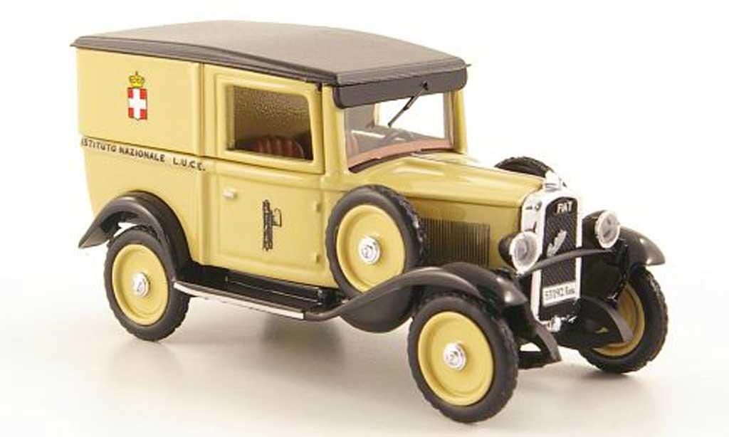 Fiat Balilla 1/43 Rio Istituto Nazionale L.U.C.E 1938 miniature